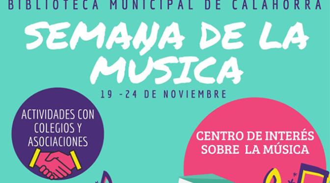 """Semana de la Música en La Biblioteca municipal """"Pedro Gutiérrez"""""""