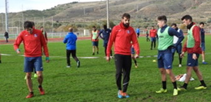 Miguel Sola ofrece la previa al partido del CD Calahorra contra el Real Sporting de Gijón B