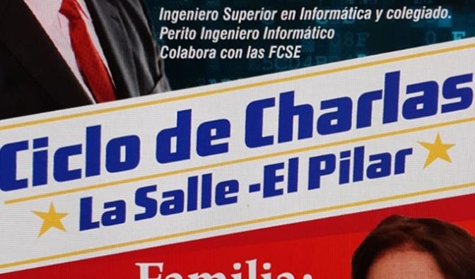El AMPA del colegio La Salle-El Pilar organiza dos charlas en noviembre