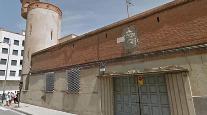 Finalmente del antiguo cuartel de la Guardia civil de Calahorra se conservará el frontal y su torreón