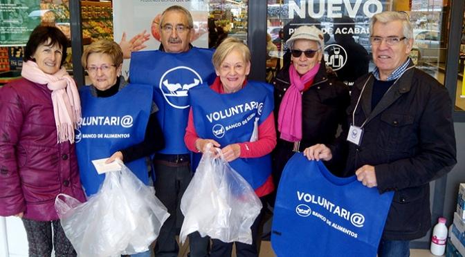 El Banco de Alimentos necesita todavía 230 voluntarios para la VI Gran Recogida