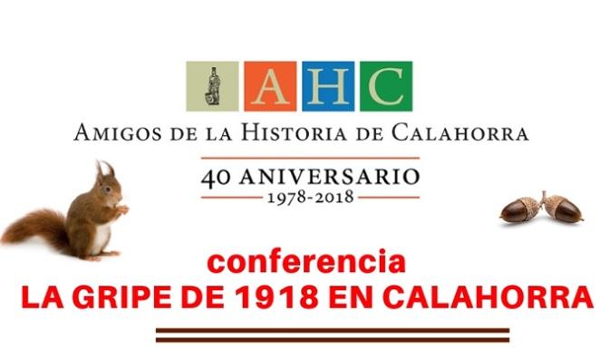 """Conferencia """"La Gripe de 1918 en Calahorra"""""""