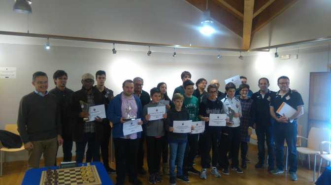 El Maestro Internacional Mikel Huerga gana el VIII Open Internacional de Ajedrez Ciudad de Alfaro
