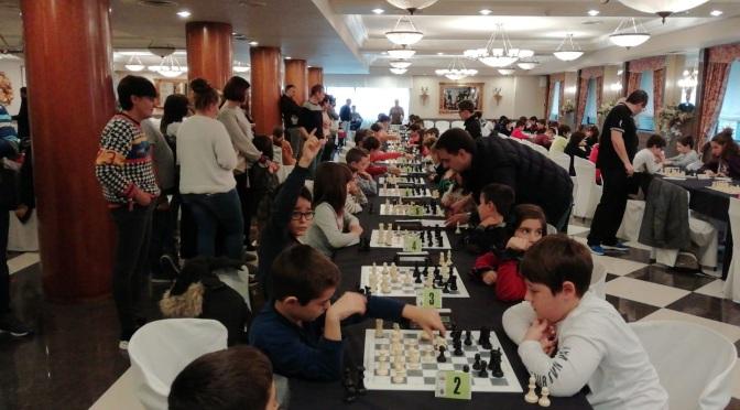Comienzo del XV Torneo de Ajedrez Ribera del Ebro