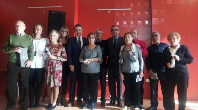 Celebración de Bodas de Oro en el Centro de personas Adultas de Calahorra