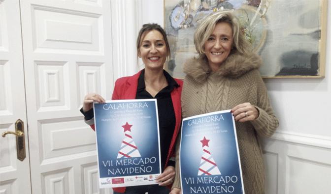 El primer fin semana de Diciembre llega la navidad a Calahorra con la 7ª edición del Mercado Navideño