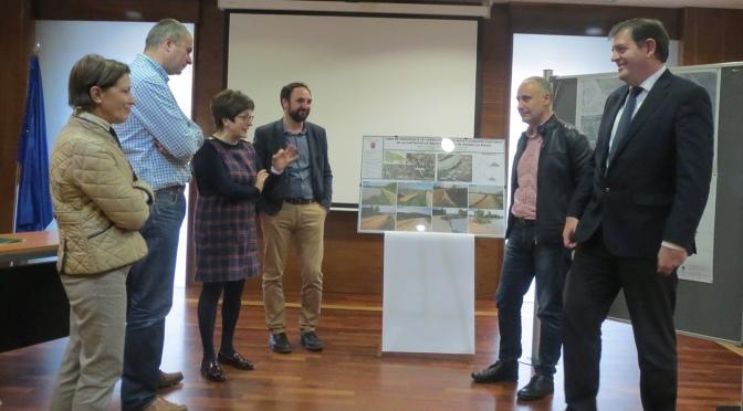 El Gobierno de La Rioja financia con 245.000 euros las obras de emergencia ejecutadas por Alfaro para reparar las defensas de la margen derecha del Ebro