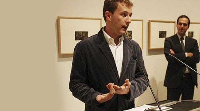 """Javier Ortiz-Echagüe, profesor de la Universidad de Navarra participa hoy en el ciclo """"Citas con el arte"""""""