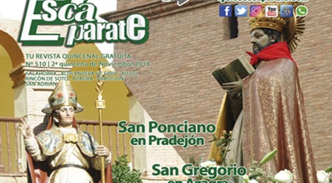 Edición festiva de Escaparate con San Ponciano y San Gregorio como protagonistas