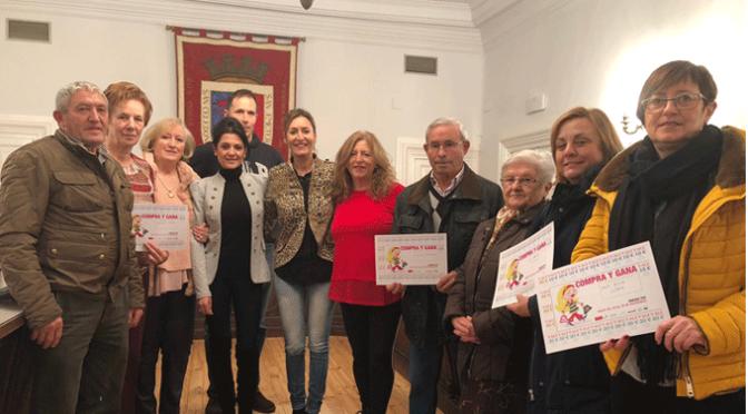 """Entregado los vales de 500 euros  de la campaña """"Compra y gana"""""""