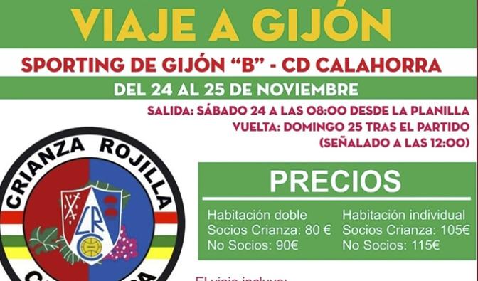 La Crianza Rojilla sigue sumando kilometros, este vez Gijón