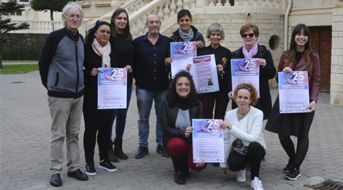San Adrián celebrará el Dia internacional de la eliminación de la violencia contra la mujer con más de 10 actividades para todos los públicos