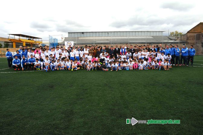 El C.D.F. San Agustín ya cuenta con el nuevo campo de hierba artificial de fútbol 8