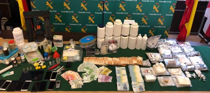 La Guardia Civil desmantela una compleja red de tráfico de drogas a gran escala que abastecía La Rioja, Álava, Vizcaya y Guipúzcoa