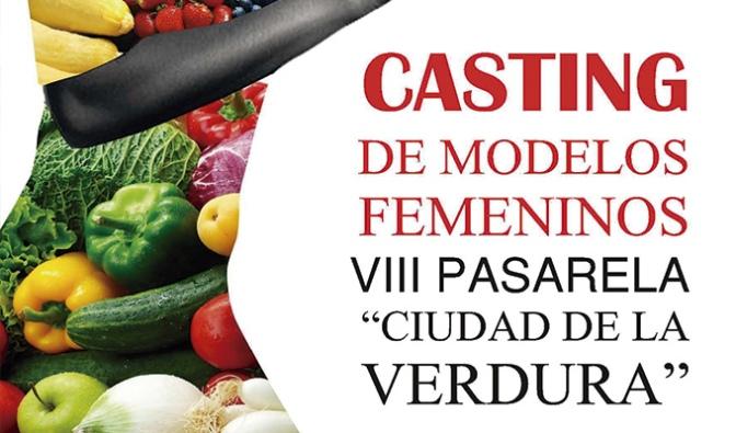 """Casting de modelos para la VIII Pasarela """"Ciudad de la Verdura"""""""