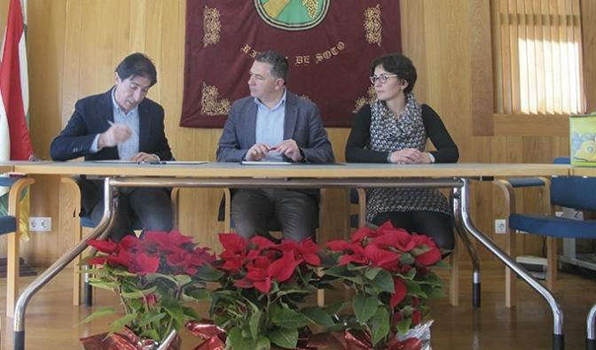 Convenio de cooperación para financiar las obras de rehabilitación del antiguo ayuntamiento de Rincón de Soto