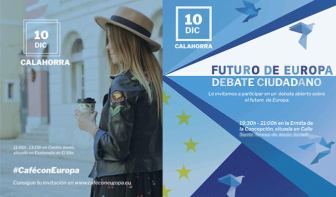 Los vecinos de Calahorra podrán compartir sus ideas sobre Europa con representantes de la Instituciones Europeas