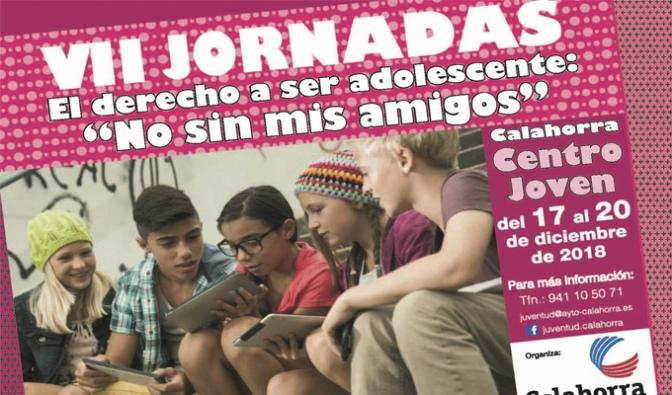 """Hoy se inauguran las VII Jornadas El derecho a ser adolescente """"No sin mis amigos"""""""