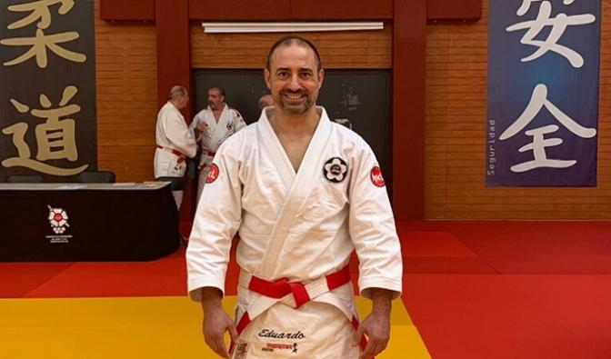 Eduardo Jiménez Cinturón Negro 6º Dan de Jiu Jitsu