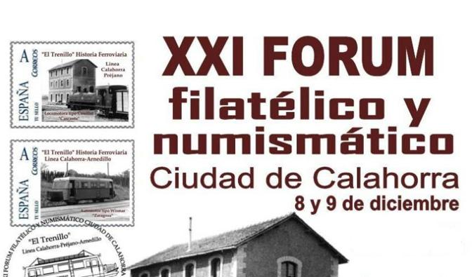 XXI FORUM FILATÉLICO Y NUMISMÁTICO CIUDAD DE CALAHORRA