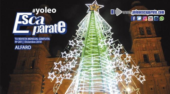 Hoy llega la edición de Navidad de Escaparate de Alfaro Diciembre