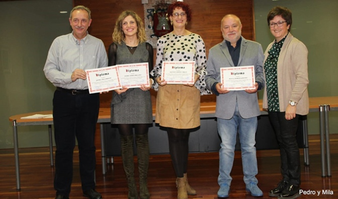 Entrega de premios del Concurso Literario de Alfaro