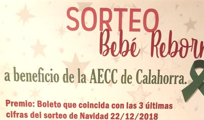 Nuevo número del sorteo del bebe Rebón de la AECC de Calahorra