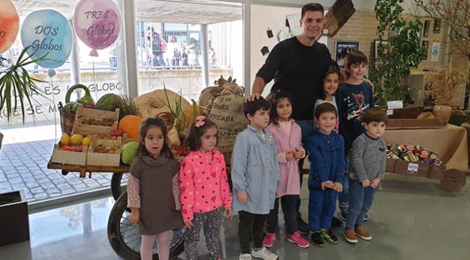 El cocinero Sergio Fernández visita el CEO Villa de Autol