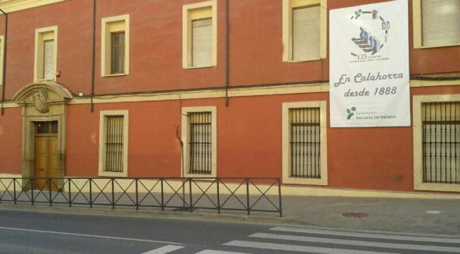 El colegio Santa Teresa de Calahorra acoge la primera conferencia del ciclo El escritorio de San Millán de la Cogolla y los orígenes del español