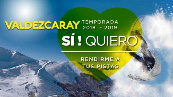 Valdezcaray abrirá este sábado para la práctica del esquí con 4 pistas abiertas
