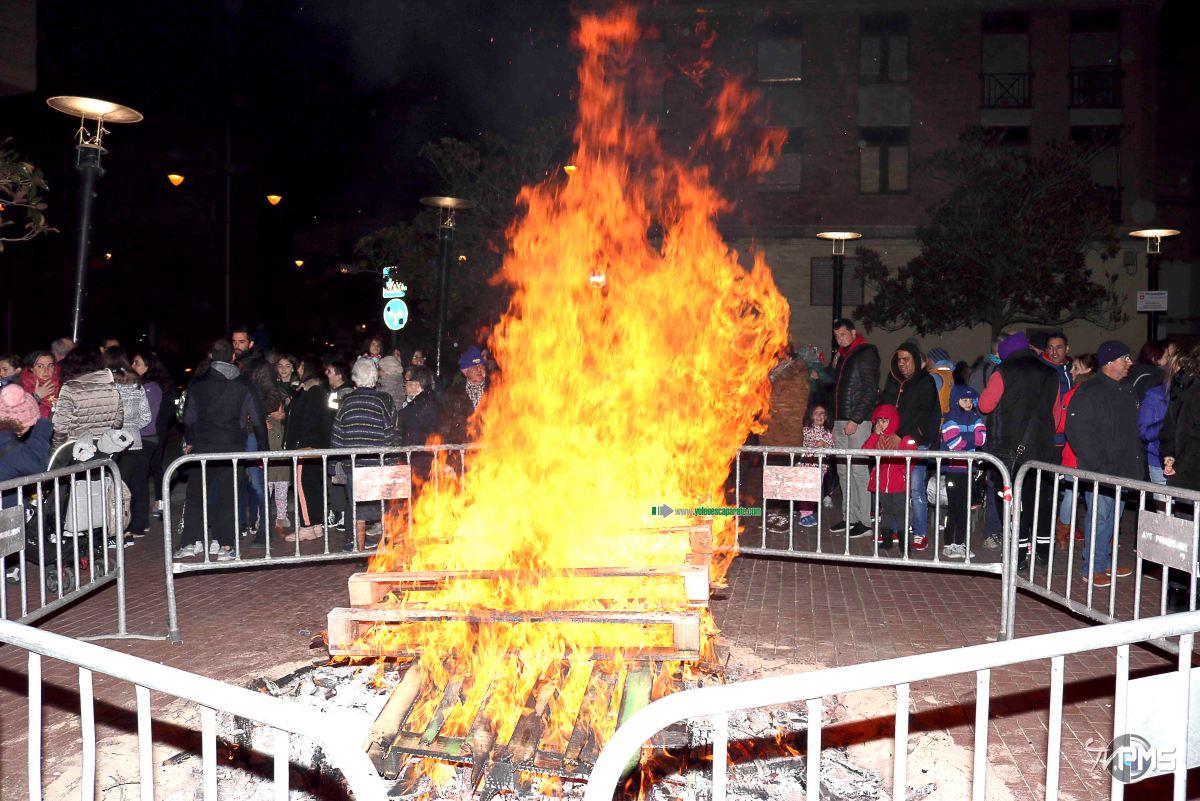 Pradejón disfrutó ayer de la celebración de San Antón