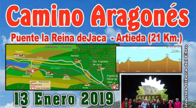 Etapa del Camino Aragonés este fin de semana