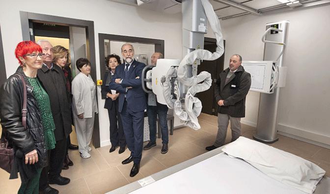 Ya está en marcha el nuevo equipo de radiología del Centro de Salud de San Adrián