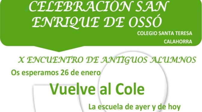 El Colegio Santa Teresa celebra San Enrique de Ossó con el X Encuentro de antiguo alumnos
