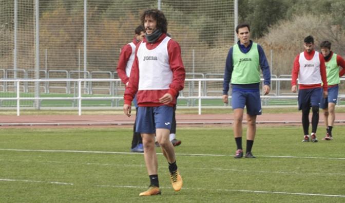 Hoy continuan los entrenamientos del CD Calahorra pensando en el partido del domingo