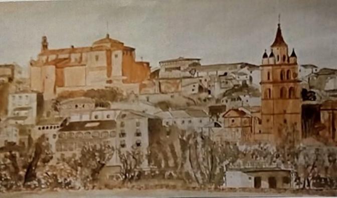 Exposición de pintura de Alejandro Espiga a beneficio de Cáritas