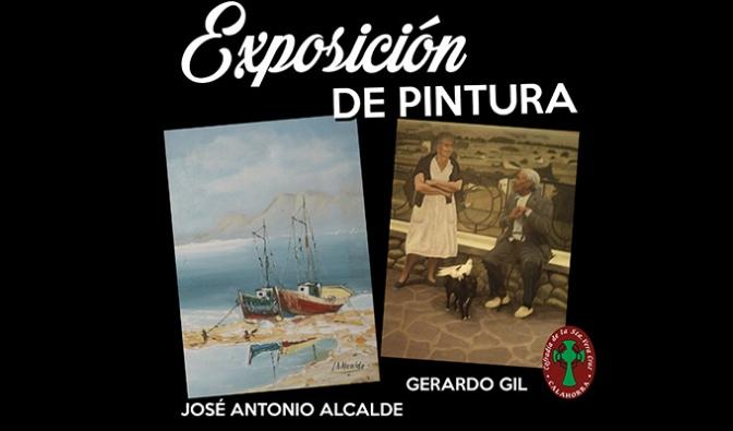 Gerardo Gil y José Antonio Alcalde exponen en Calahorra