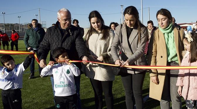 Aldeanueva de Ebro ya cuenta con campo de fútbol de césped artificial