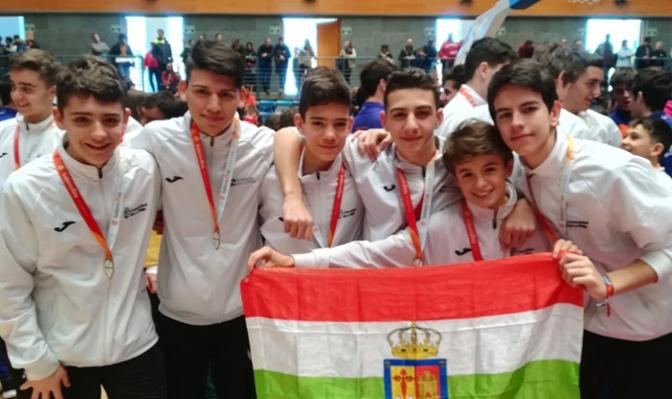 6 jugadores de ABQ Calahorra en los campeonatos de España