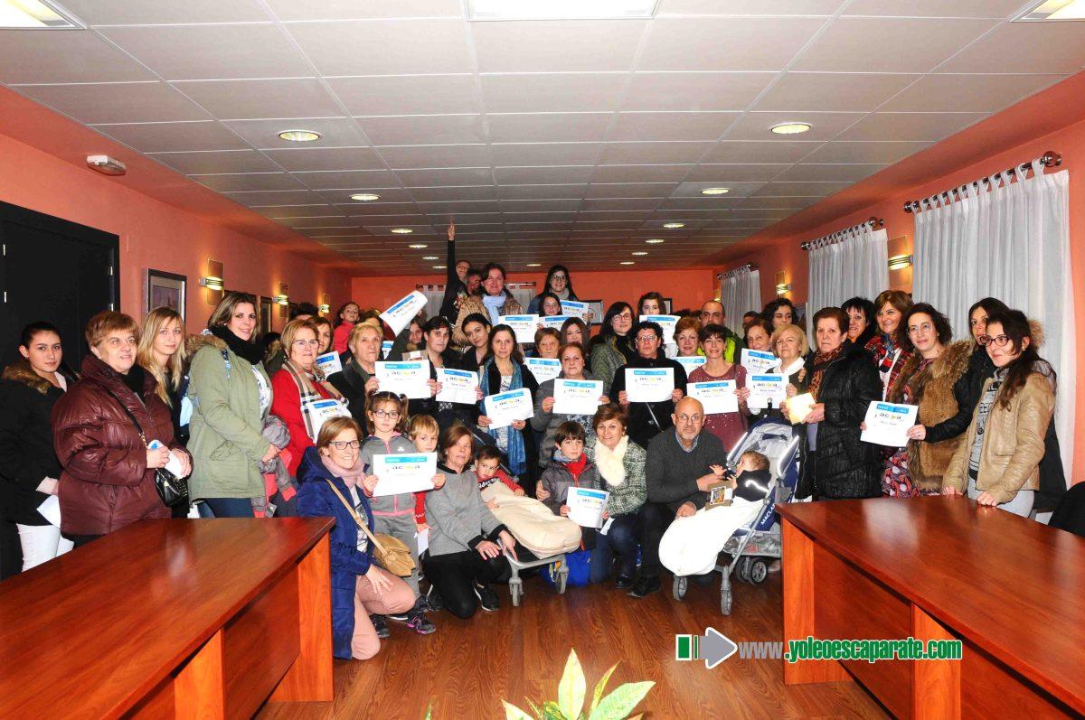 Entregados los premios de la campaña de Navidad en Autol