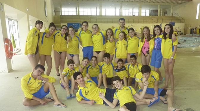El club natación Nassica participo en el XXXV Campeonato de La Rioja absoluto de invierno de natación