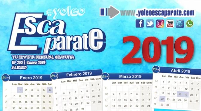 Ya disponible una nueva edición de Escaparate Alfaro Enero