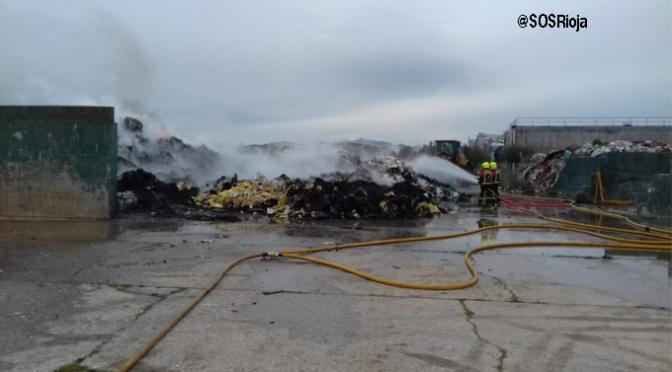 La instalación de Pradejón no cuenta con autorización para el almacenamiento y gestión de residuos desde el año 2012