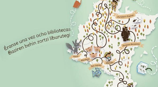 """Proyecto colaborativo  """"Éranse una vez 8 bibliotecas"""", entre ellas la de San Adrián"""