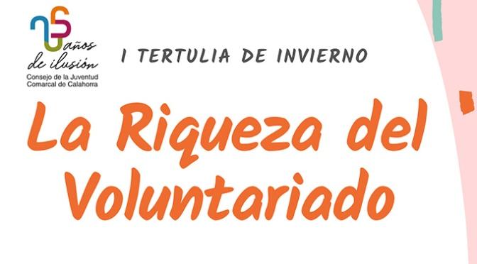 La Riqueza del voluntariado, primera tertulia de invierno del CJCC en el año de su 25 aniversario