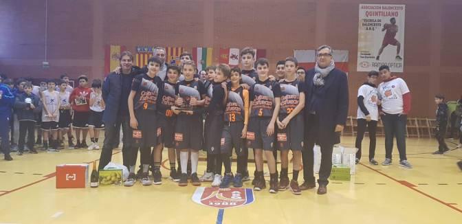 El Valencia Basket campeón en la Olimpiada mini Miguel Jiménez