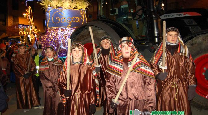 Galeria: Llegada de SS.MM. los Reyes Magos a Alfaro