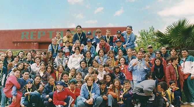 El Grupo Scout Nuestra Señora de Guadalupe de Calahorra comienza la celebración de su 50 aniversario