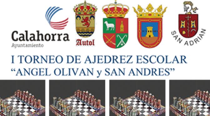 """I torneo de ajedrez """"ANGEL OLIVAN y SAN ANDRES"""""""
