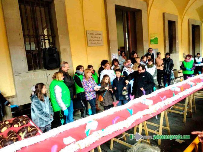 Galeria: Gran rosco en Alfaro para celebrar San Blas